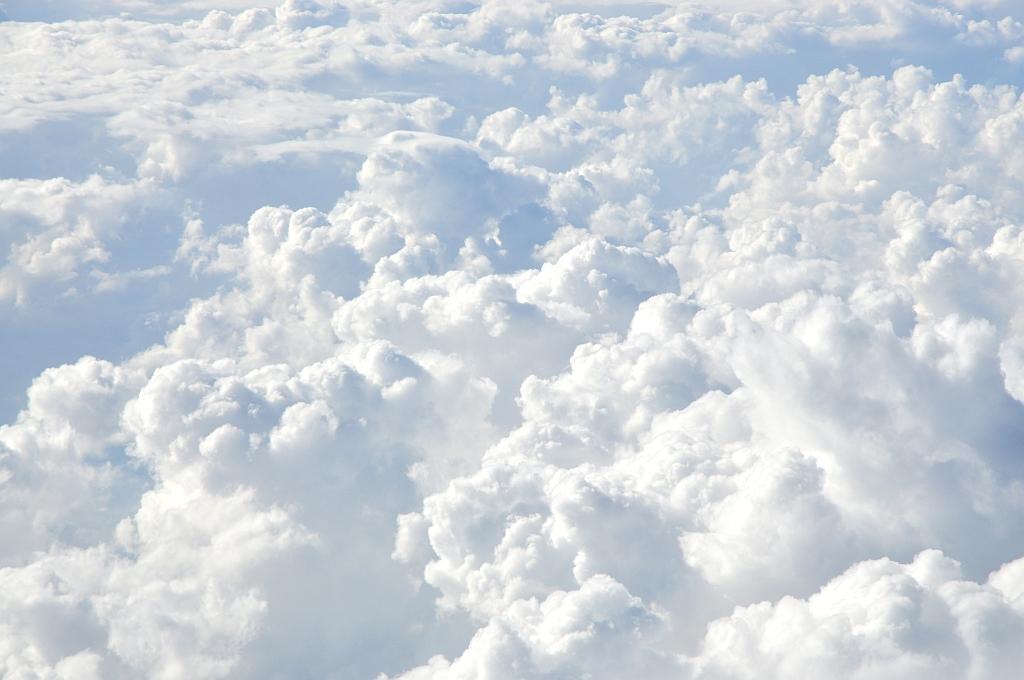 Ber Den Wolken Lizenzfreie Bilder
