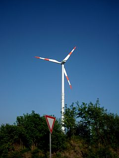 alternative Energien - Windgenerator