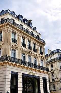 Cartier in Paris an der Champs Elysees