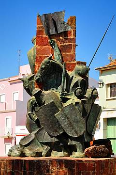 Monument in Silves